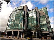 O1634 : Dublin-Custom House Quay-IFSC House by Suzanne Mischyshyn