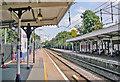 TQ3092 : Palmers Green station by Ben Brooksbank