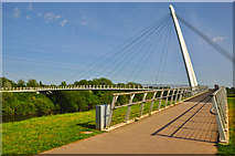 SO8453 : Worcester : Diglis Bridge by Lewis Clarke