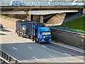 SD8004 : Container Truck on the M60 by David Dixon
