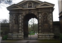 SP5206 : The Danby Gate by N Chadwick