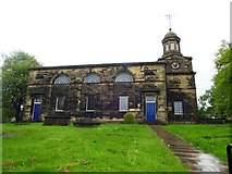 SE1321 : The Anglican and Methodist Church of St Matthew, Rastrick by Bill Henderson