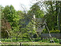TF1304 : Woodcroft Castle north of Marholm, by Richard Humphrey