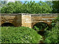 TF1106 : Stone bridge - Lolham Bridges by Richard Humphrey