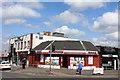 NS6169 : Corner of Beech Road & Auchinairn Road, Bishopbriggs by Leslie Barrie