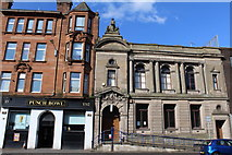 NS5668 : Maryhill Public Library, Maryhill Road, Glasgow by Leslie Barrie