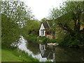 TF1509 : Houses alongside the River Welland, Deeping Gate by Paul Bryan