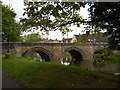 TF1509 : Pack horse bridge over the River Welland, Deeping St. James by Paul Bryan