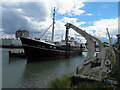 TA2709 : Ross Tiger moored in Alexandra Dock, Grimsby by Steve  Fareham
