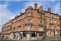NS5566 : Corner of Dumbarton Road & Thornwood Avenue, Glasgow by Leslie Barrie