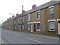 SE3910 : Cudworth - terraces on Pontefract Road by Dave Bevis