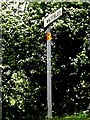 TM4293 : Waterloo sign by Geographer