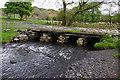 SD2895 : Bridge over Tranearth Beck by Ian Taylor
