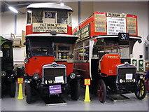 TQ1979 : London Transport Museum Depot by Mark Percy