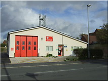 SD3648 : Fire station, Preesall by JThomas