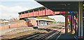 TQ2369 : Raynes Park Station, Up side from Down side by Ben Brooksbank