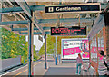 TQ2369 : Raynes Park Station, to Motspur Park etc. on Platform 4 by Ben Brooksbank