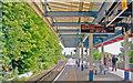 TQ2369 : Raynes Park Station, towards London on Platforms 1/2 by Ben Brooksbank