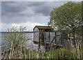 NO1600 : Birdwatching hide by William Starkey