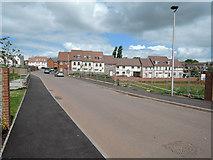 ST0107 : Cullompton: along Swallow Way by Martin Bodman