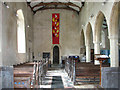 TF9828 : The church of All Saints in Stibbard - view west by Evelyn Simak