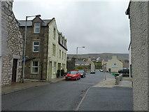 HU4039 : Main Street, Scalloway by James Allan