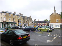 SP8699 : Uppingham, Market Place by Mike Faherty