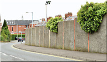 J3774 : Wilgar Park football ground, Belfast - May 2014(2) by Albert Bridge