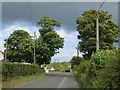 C2102 : Road at Milltown by Richard Webb