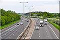 SO8855 : Wychavon : The M5 Motorway by Lewis Clarke