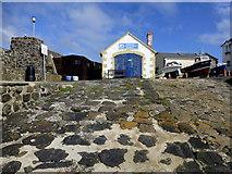 C9242 : Boathouse, Portballintrae by Kenneth  Allen