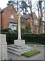 SP0763 : War Memorial, Alcester Road, Studley by Robin Stott