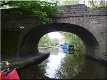 SD9926 : Mayroyd Bridge [No 15], Rochdale Canal by Christine Johnstone
