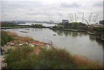 TQ3980 : East India Dock Basin by N Chadwick