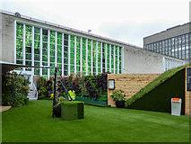TQ2881 : Roof Garden, John Lewis, Oxford Street, London W1 by Christine Matthews