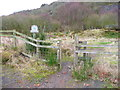 NZ9701 : Entrance to the brickworks site by Humphrey Bolton