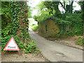 SU6221 : Removed railway bridge over Peake New Road by Robin Webster