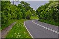 SO8854 : Wychavon : The A44 by Lewis Clarke