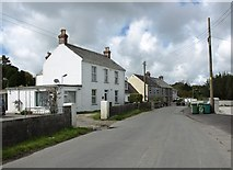 SX0257 : Houses in Bowling Green village by David Gearing