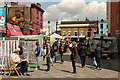 TQ2883 : Inverness Street Market by Richard Croft
