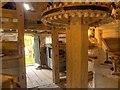 SJ4553 : Stretton Mill (interior) by David Dixon