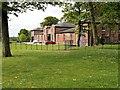 SD8304 : Heaton Park, The Farm Centre, Stables Café and Animal Centre by David Dixon