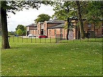 SD8304 : Heaton Park, The Farm Centre, Stables Café and Animal Centre by David Dixon