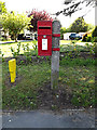 TM4489 : Lowestoft Road Postbox by Adrian Cable