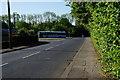 SK5699 : Bus turning circle on Alverley Lane by Ian S