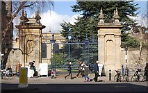 SP5106 : Gates, Trinity College by N Chadwick