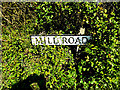 TM4888 : Mill Road sign by Adrian Cable