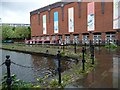 SJ8397 : Staffordshire Arm, Bridgewater Canal, Castlefield Junction by Christine Johnstone