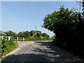 TM4387 : Church Lane, Weston by Adrian Cable