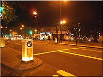 TQ2882 : Marylebone Road looking towards Great Portland Street station by David Howard